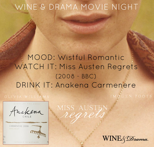 Wine & Drama Movie Night- Wistful Romantic