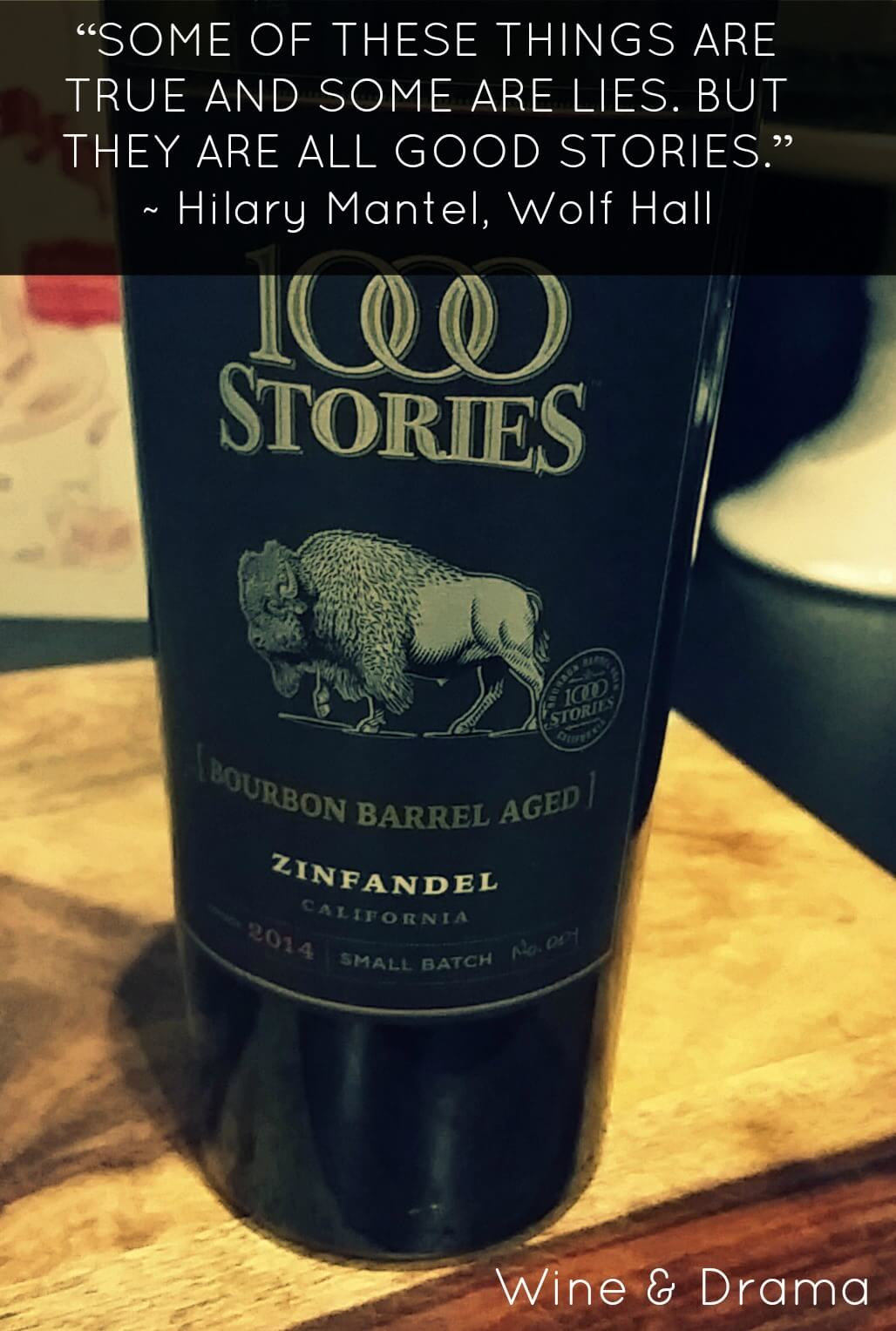 1000 stories zinfandel wine review