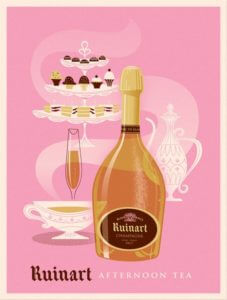 Ruinart Blanc de Blanc Champagne, Sillery and Brimont, Champagne, France